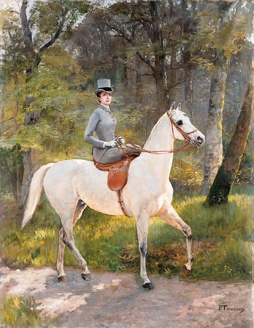 Paul Tavernier (French, b. 185