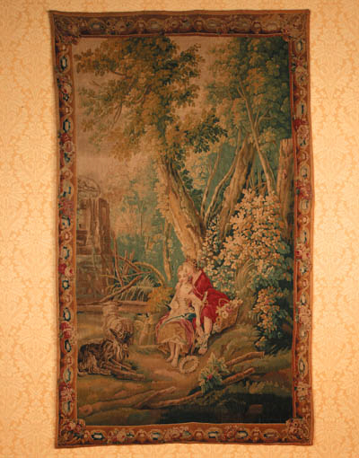 A Beauvais pastoral tapestry
