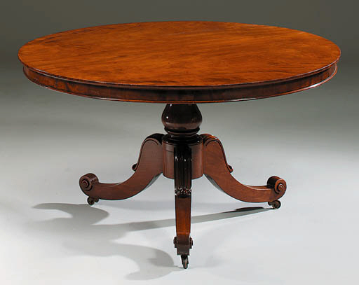 A GEORGE IV MAHOGANY BREAKFAST