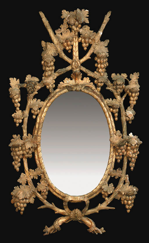AN IRISH GEORGE III GILTWOOD A
