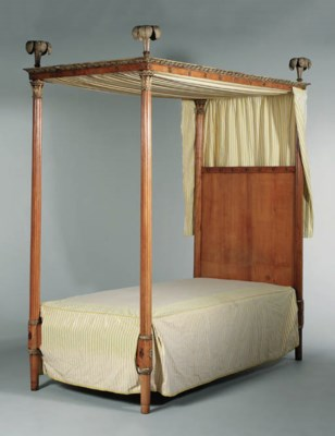 A FRUITWOOD AND PARCEL-GILT FO