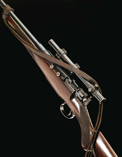 A 7MM MAUSER SPORTING RIFLE BY