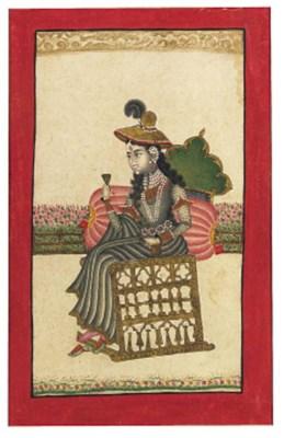 A Lady in European Dress
