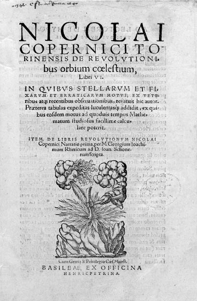 COPERNICUS, Nicolaus. De revol