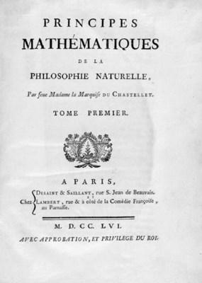 NEWTON, Isaac. Principes mathm