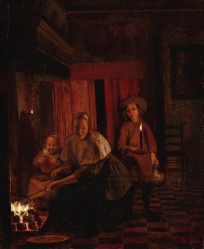CIRCLE OF PIETER DE HOOCH (Rot