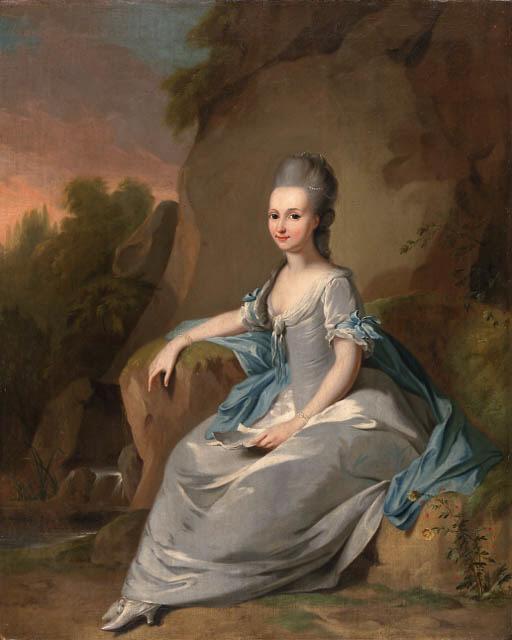 CIRCLE OF JOHANN HEINRICH TISCHBEIN (Haina 1722-1789 Kassel)