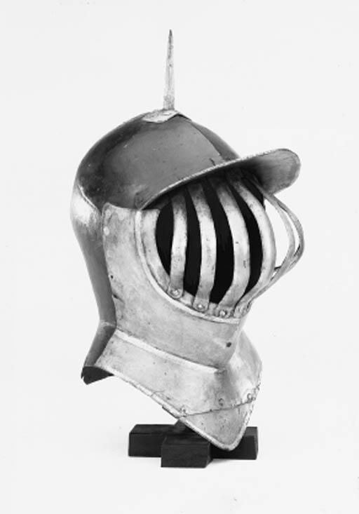 An English Heraldic Helm