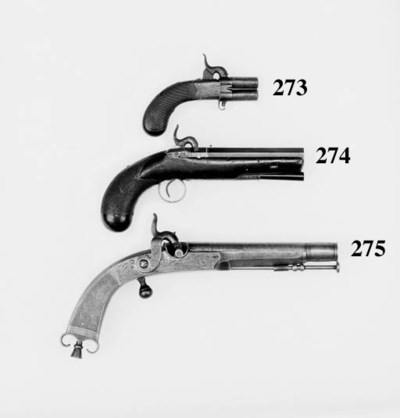 A Pair Of 32-Bore All-Steel Pe