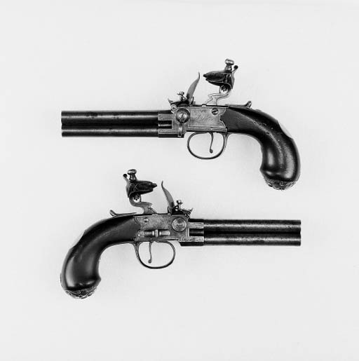 A Pair Of 80-Bore Four-Barrel