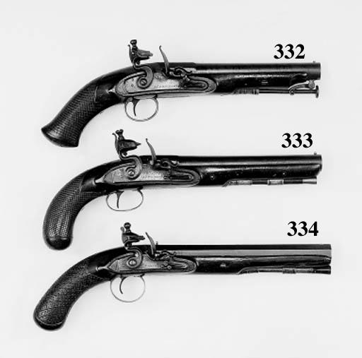 An 11-Bore Flintlock Pistol
