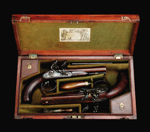A Fine Cased Pair Of 28-Bore D