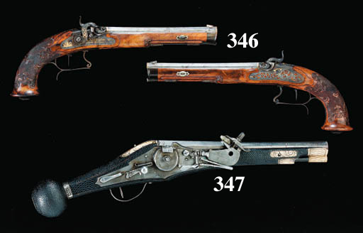 A Fine Pair Of 50-Bore German