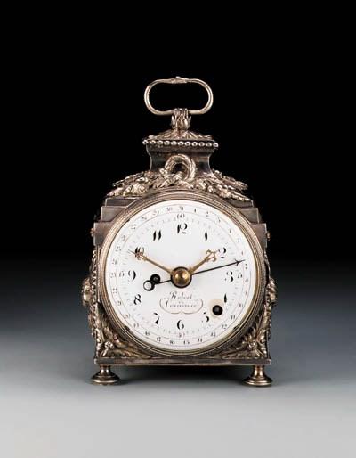An Empire silvered brass quart