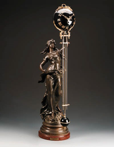 A French mystery pendulum cloc