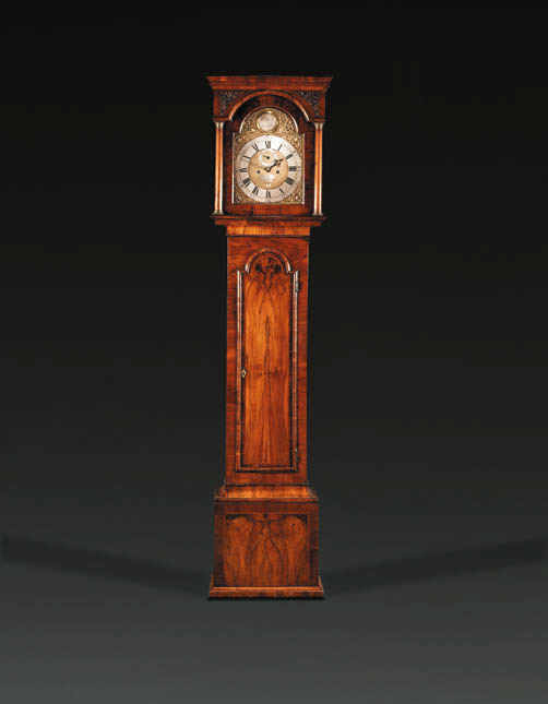 A George III walnut longcase clock