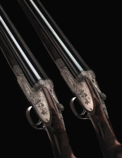 A FINE PAIR OF 12-BORE (2IN)'I