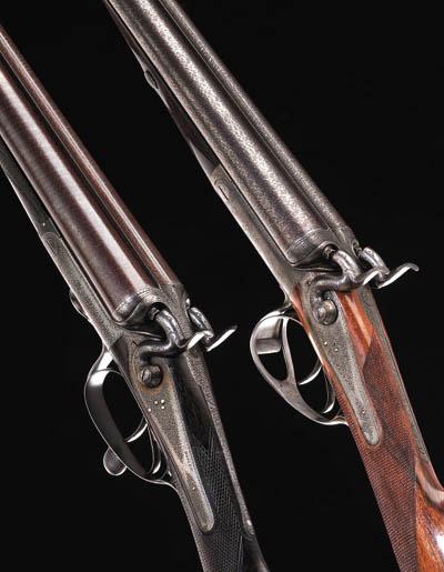 A 12-BORE HAMMER EJECTOR GUN B
