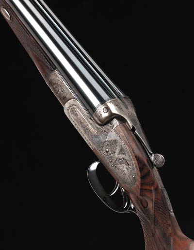 A RARE 8-BORE (3IN) DOUBLE-BAR