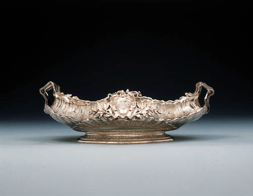 A French silver jardinre