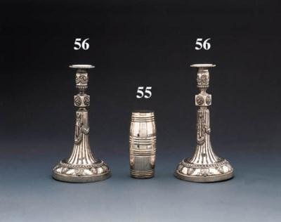 A Silesian silver double-beake