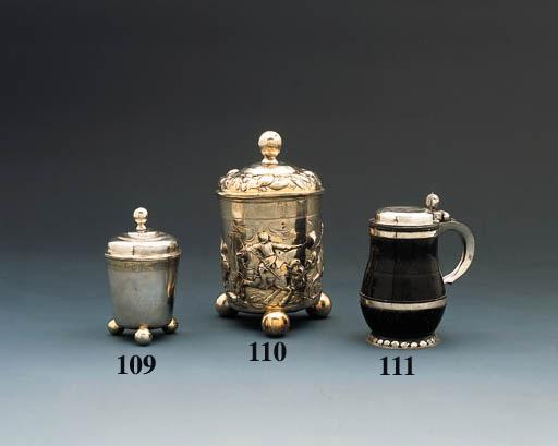A German parcel-gilt silver cu