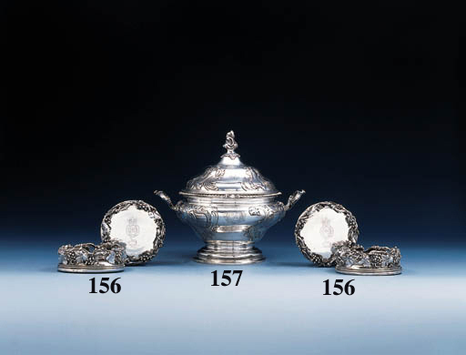 A set of four William IV silve