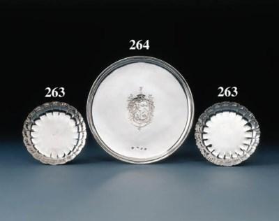 A George I silver tazza