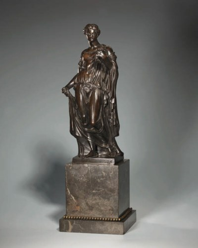 A BRONZE FIGURE OF THE FARNESE