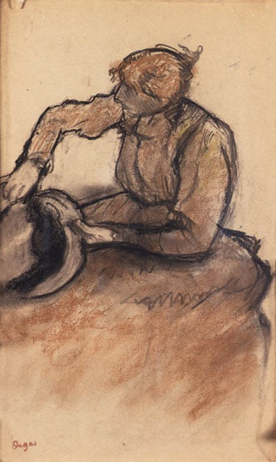 Edgar Degas 1834-1917)