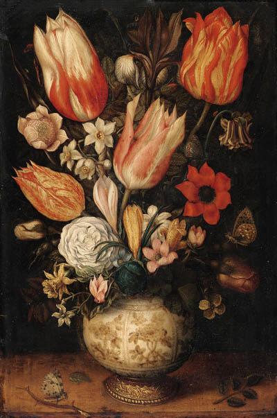 Circle of Ambrosius Bosschaert