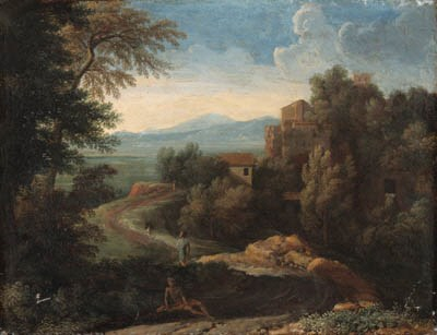 Attributed to Gaspard Dughet,