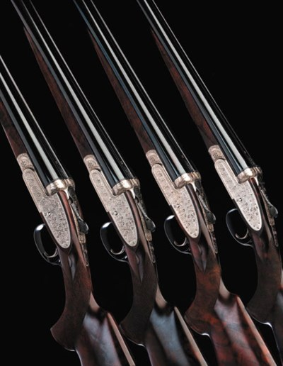 A SET OF FOUR 20-BORE (2IN) SI