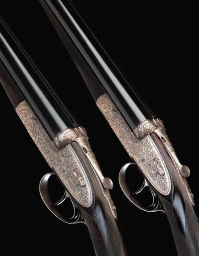 A FINE PAIR OF 20-BORE (2IN) '