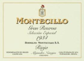 Montecillo, Gran Reserva, Seleccion Especial--Vintage 1934