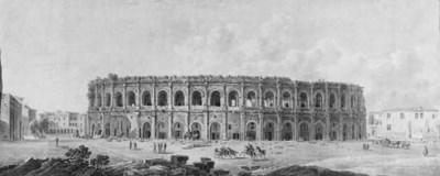 Circle of Louis-Jean Desprez (
