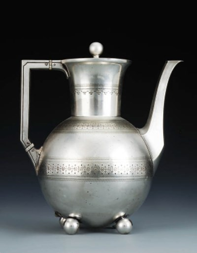 An Electroplated Teapot