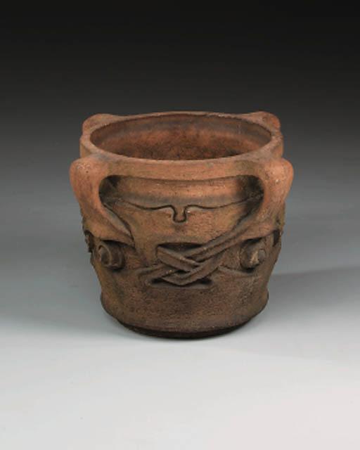 A Terracotta garden Urn