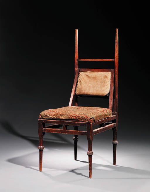 An Oak 'Greek' Side Chair