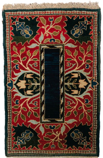 A Morris & Co. hand-knotted 'H