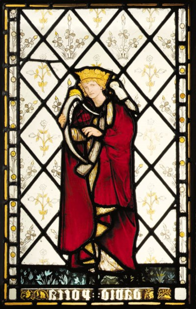 'David Poeta', A Stained Glass