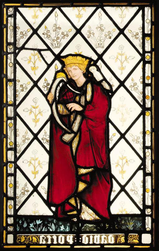 'David Poeta', A Stained Glass Window