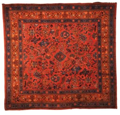 An Arts and Crafts carpet