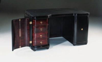 A bentwood desk