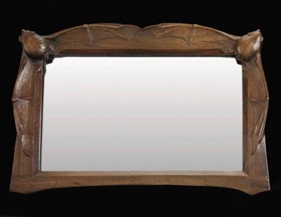 A Carved Mirror Frame