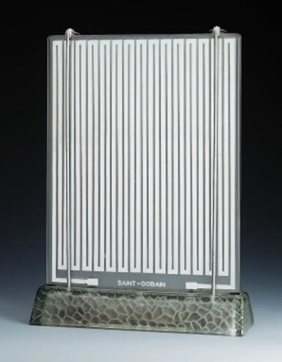 A Silvered Glass Radiator