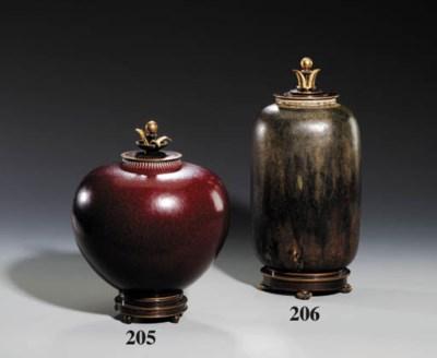 A Bronze Mounted Vase