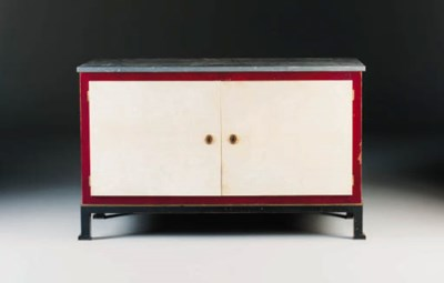 A Marble-Topped Sideboard