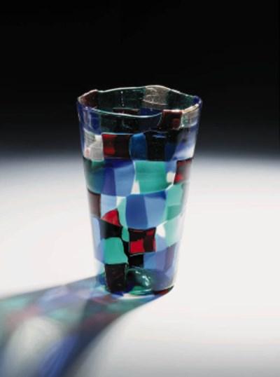 A 'Pezzato' Glass Vase