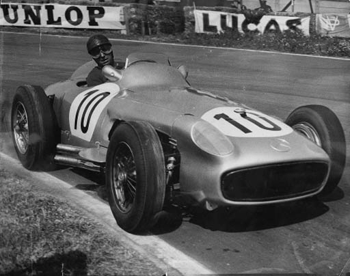 MERCEDES-BENZ - Approximately 160 studies of post war racing and Grand Prix cars; in two categorised files - mostly factory press photos. (160)